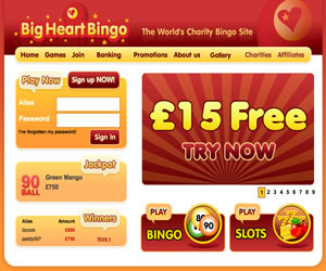 Big Heart Bingo/