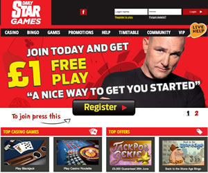 Daily Star Bingo/