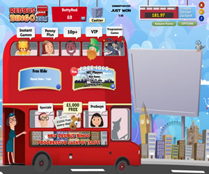 Red Bus Bingo/